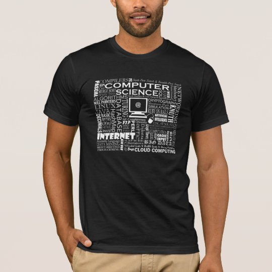 Computer Science T Shirt On Dark Zazzle Com