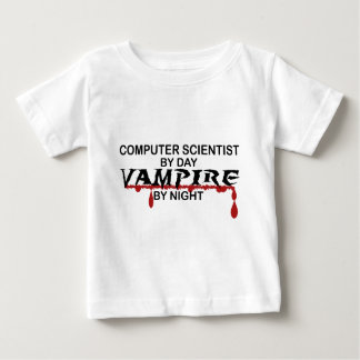 Computer Scientist by Day, Vampire by Night Tees
