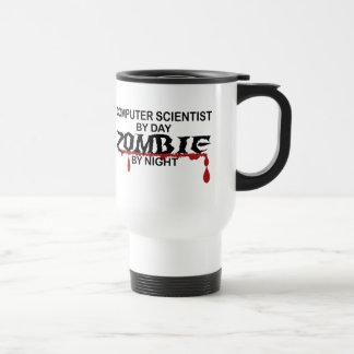 Computer Scientist Zombie Travel Mug