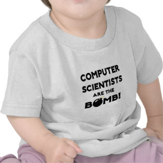 Computer Scientists Are The Bomb! Shirt