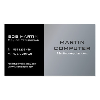 Computer Service Repair Business Card