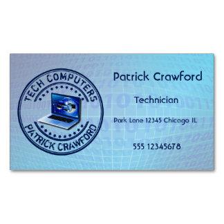 Computer Service Repair Technician Or PC Shop Business Card Magnet