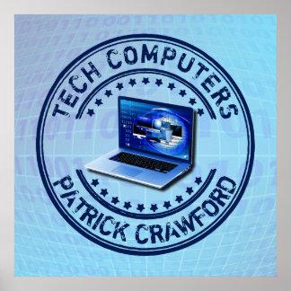 Computer Service Repair Technician Or PC Shop Poster