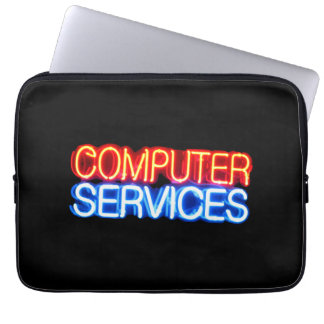 computer services laptop sleeve