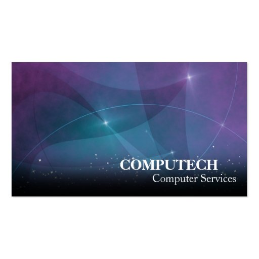 Computer Services & Programmer Business Card