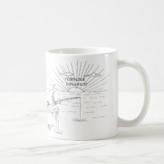 Computer Simulation Sunrise – Mug