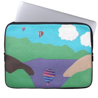 Computer Sleeve with Mountain Design