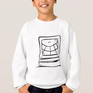 Computer Smiling Sweatshirt