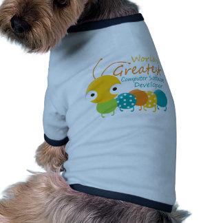 Computer Software Developer Dog Tshirt