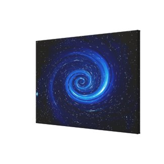 Computer Space Image Canvas Print