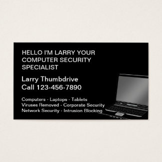 Computer Specialist Business Cards