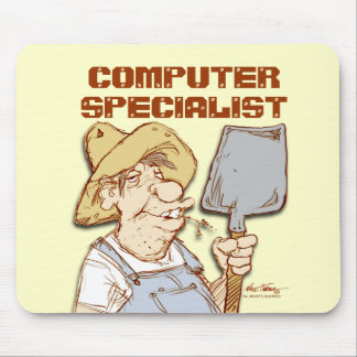 Computer Specialist Mouse Pad