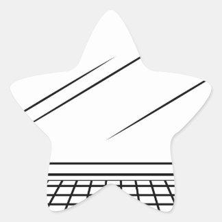 Computer Star Sticker