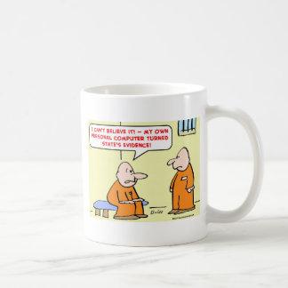 computer state's evidence coffee mug