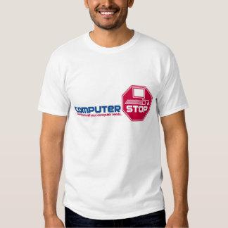 Computer Stop Tee Shirts