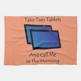 Computer tablets - Take Two Hand Towel