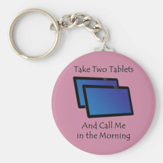 Computer tablets - Take Two Keychain