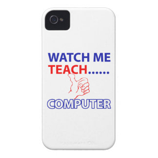 COMPUTER teacher design iPhone 4 Case