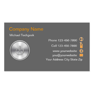 Computer Tech Business Cards