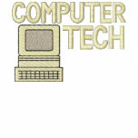 Computer Tech Embroidered Shirt