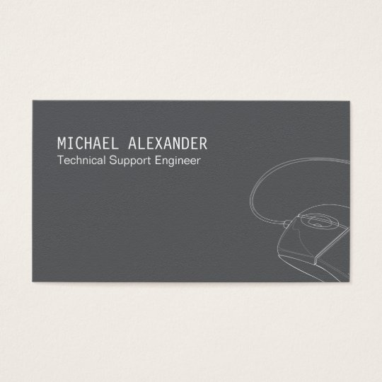 Computer technician business card zazzle computer technician business card colourmoves Images