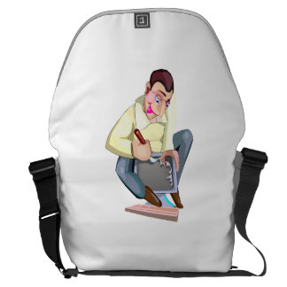 Computer Technician Courier Bags