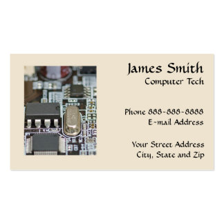 ... Business Cards and Computer Technician Business Card Templates