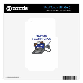 COMPUTER TECHNICIAN iPod TOUCH 4G SKINS