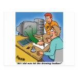 Computer / Technology Giftware! Postcard