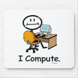 Computer User Mouse Pad
