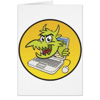 Computer Virus Card