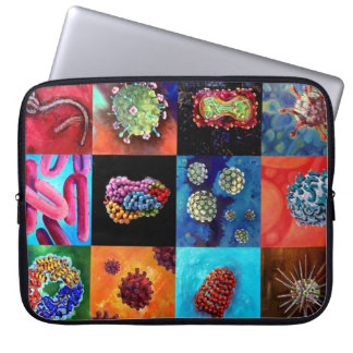 Computer Virus!-Neoprene Laptop Sleeve