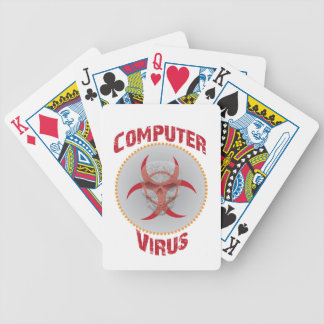 Computer Virus Bicycle Playing Cards