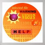 Computer Virus Poster