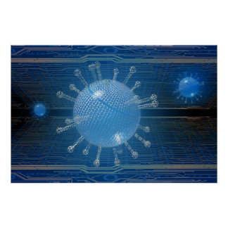 Computer virus print