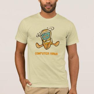 Computer virus shirt