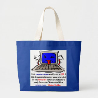 Computer Viruses are Alive (2) Tote Bag
