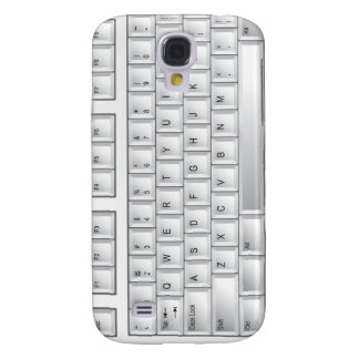 Computer white Keyboard iPhone Case Galaxy S4 Case