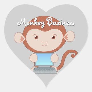 Computer Wizard Monkey Stickers