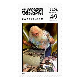 COMPUTER WIZARD Postage Stamp