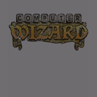 Computer Wizard T-Shirt shirt