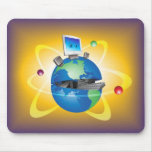 Computer World Mouse Pad