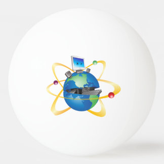 Computer World Ping Pong Ball