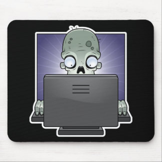 Computer Zombie Mouse Pad