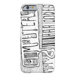 Computers and Bar Codes Barely There iPhone 6 Case