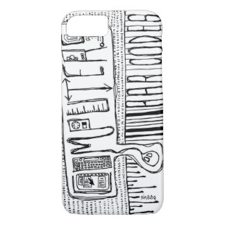 Computers and Bar Codes iPhone 8/7 Case