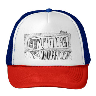 Computers and Bar Codes Trucker Hat