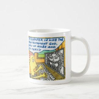 Computers and God Classic White Coffee Mug