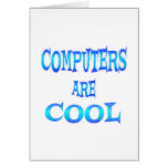 Computers are Cool Greeting Card