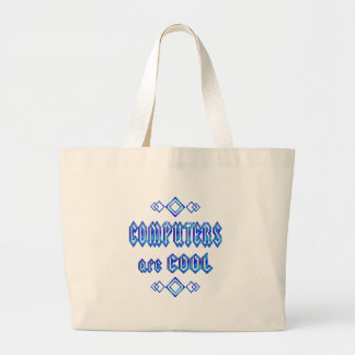 Computers Are Cool Jumbo Tote Bag